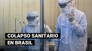 Red hospitalaria de Brasil colapsa por la COVID-19 y autoridades sanitarias piden toque de queda