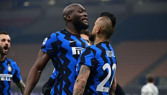 Arturo Vidal marcó su primer gol con camiseta de Inter en Serie A