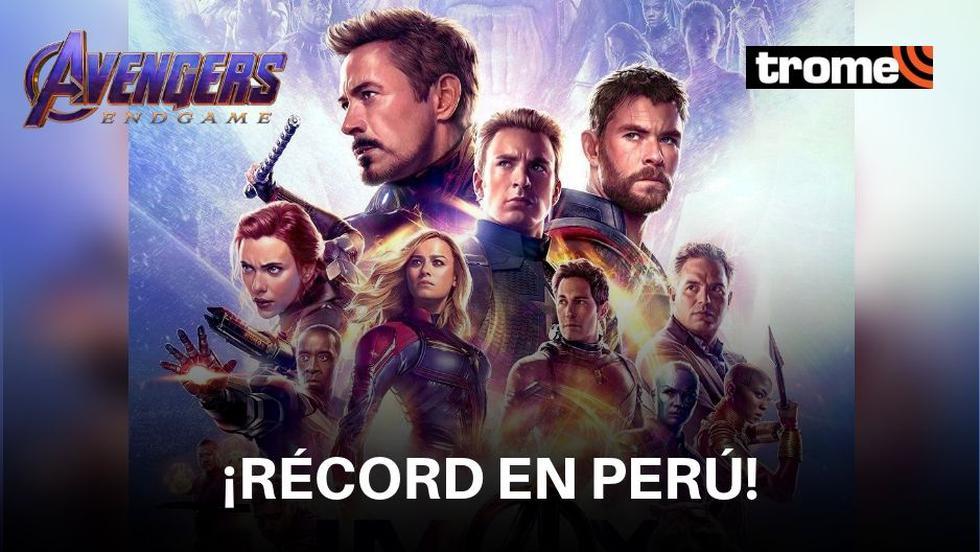 """Avengers: Endgame"": Peruanos compraron 180 mil entradas en la preventa"