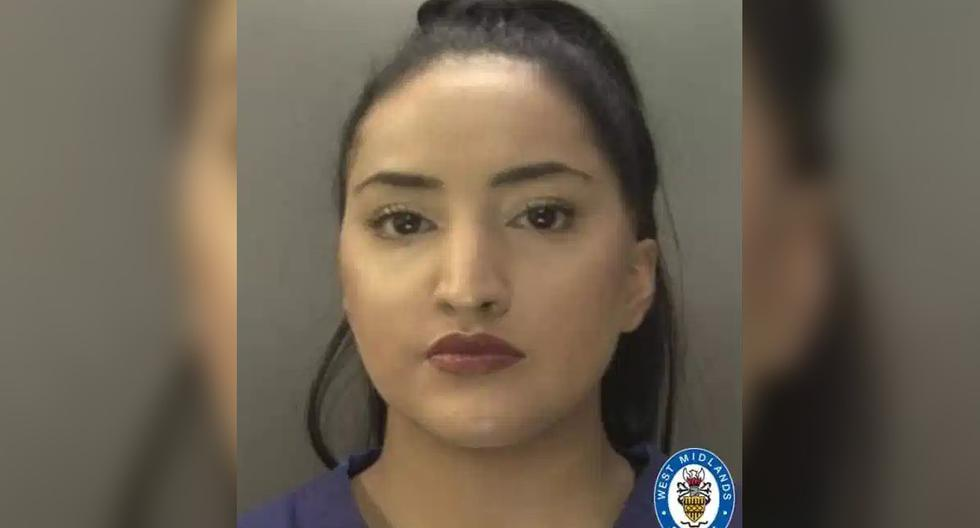 Ayesha Basharat, enfermera en Birmingham (Inglaterra). (Captura/Policía West Midlands).