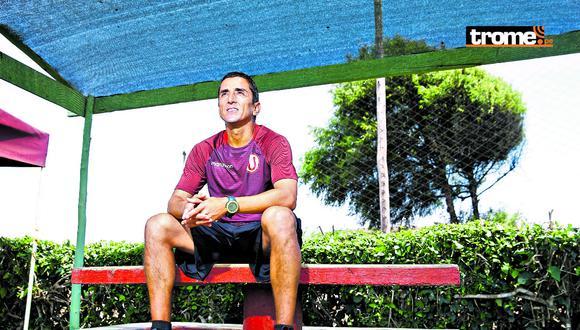 Paolo Maldonado recordó sus mejores anécdotas. (Foto: Allengino Quintana)