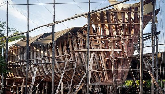El diseño de este gran buque de vela con energía sustentable está inspirado en la goleta comercial Ingrid, de las islas Åland de Finlandia. (Foto: Sailgate)