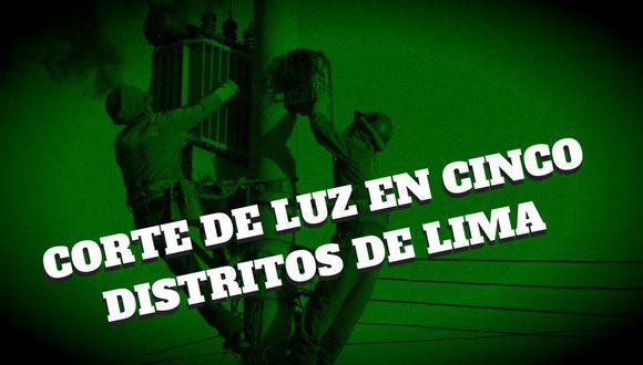Estos cinco distritos de Lima no tendrán luz por instalación de puente Bayley sobre río Huaycoloro