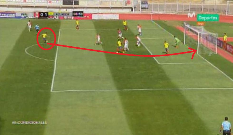Gol de Ecuador ante Perú: Así fue el sorpresivo tanto de Rezabala en el Sudamericano Sub 20