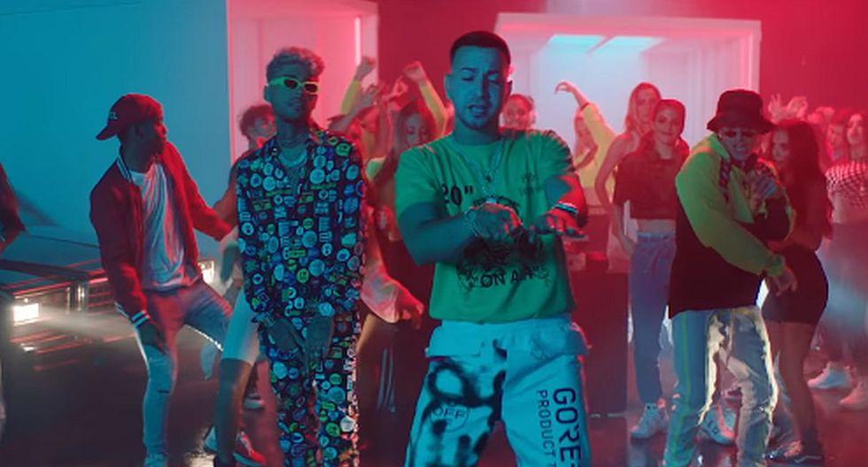 """Natti Natasha y Justin Quiles se unieron para lanzar el remix de """"DJ no pare"""". (Foto: Captura de video)"""
