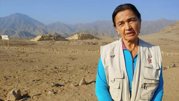 La arqueóloga peruana Ruth Shady lleva 26 años descubriendo los secretos de Caral. (Foto: Martín Tumay Soto)