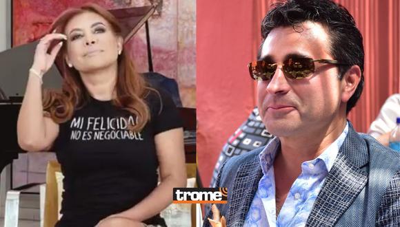 Magaly asegura que su felicidad no es negociable y fans creen que es una indirecta para Alfredo Zambrano