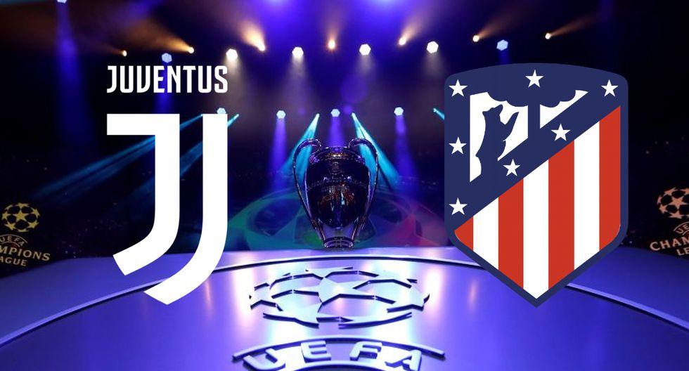 Juventus vs Atlético Madrid, por el grupo D de Champions League