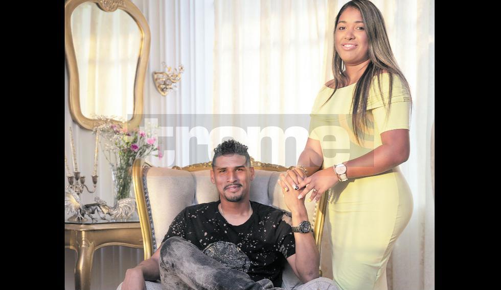 Hija de Kukín Flores se casará el próximo año con arquero del Pirata FC. (Fotos Trome)