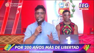 Gian Piero Díaz y Johanna San Miguel hacen un llamado a defender la libertad de expresión en 'Esto es Guerra' | VIDEO