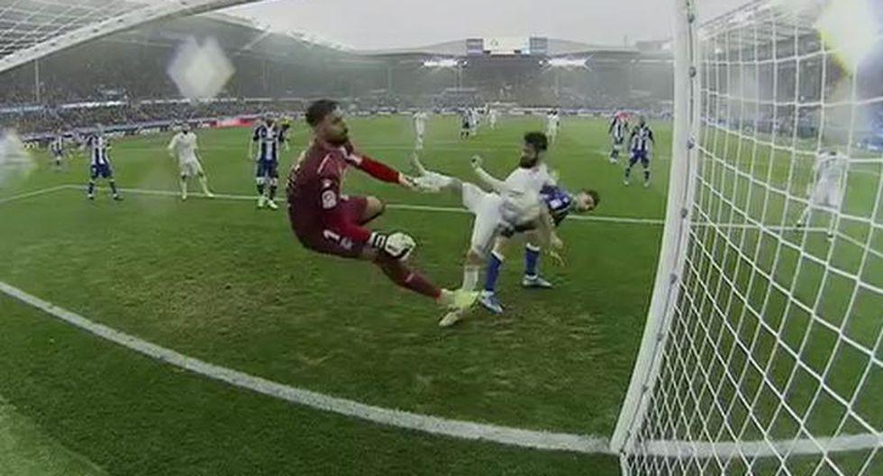 Real Madrid vs Alavés: Gol de Carvajal (Captura: ESPN)