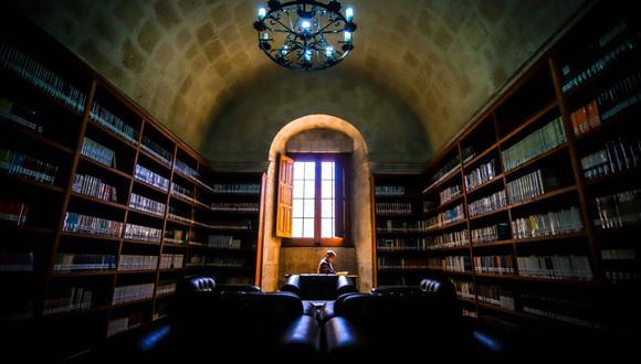 Por causa de la pandemia del COVID- 19 solo habilitarán un salón con el 40% de aforo en la Biblioteca Regional Mario Vargas Llosa (Foto: GORE-Arequipa)