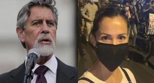 Mónica Sánchez comparó a Francisco Sagasti con Valentín Paniagua | VIDEO
