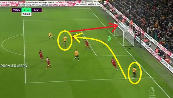 Liverpool vs. Wolverhampton: Gol de Raúl Jiménez (Video: ESPN) (Trome)