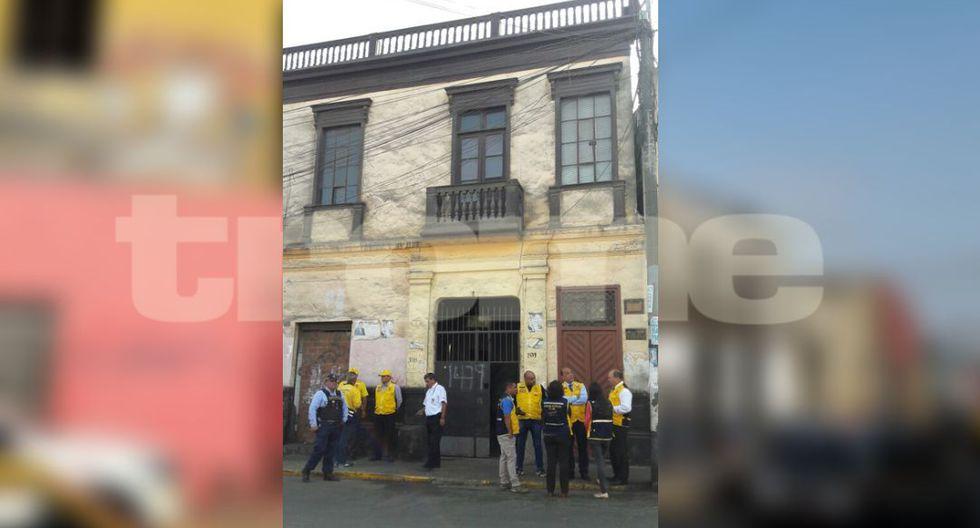 Temblor en Lima: viviendas afectadas en Barrios Altos tras sismo de 5.5 grados