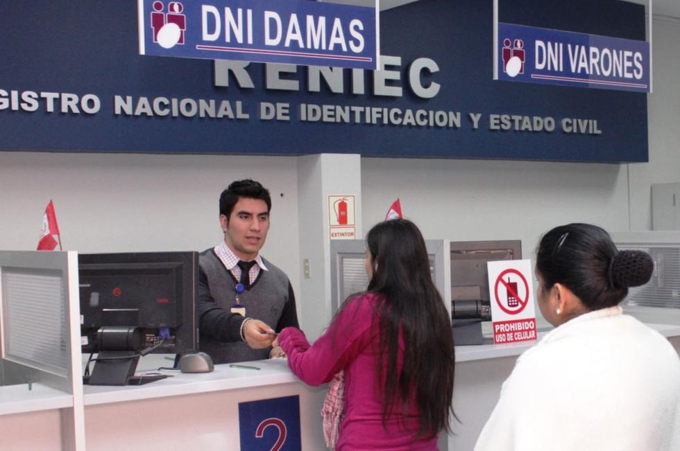 El Reniec tramitó duplicados de DNI en pocas horas. (Foto: Andina)