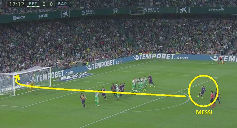 gol 1 de Barcelona