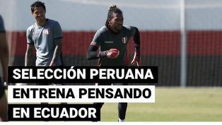 Copa América: Selección Peruana se prepara con miras al partido frente a Ecuador