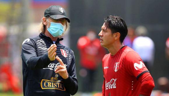 Gianluca Lapadula reveló parte de su diálogo con Ricardo Gareca (Foto: EFE)