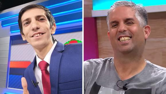 Giancarlo Granda 'troleado' en vivo por Diego Rebagliati que se volvió viral.
