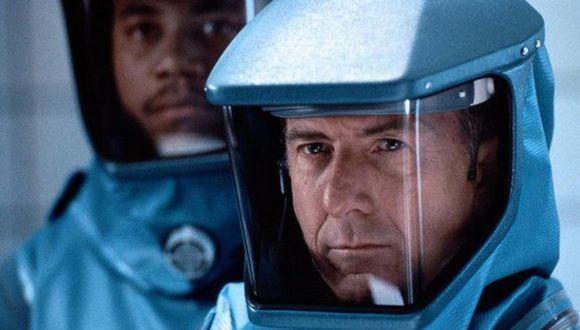 Epidemia, de 1995, con Dustin Hoffman. Disponible en Netflix.