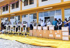 Madre de                         Dios: Ejecutivo entrega 5 respiradores mecánicos                         y 5,000 pruebas rápidas al hospital Santa Rosa