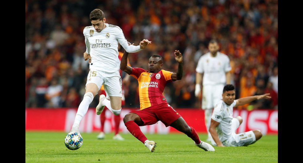 Real Madrid y Galatasaray se enfrentan en Turquía por el Grupo A de Champions League