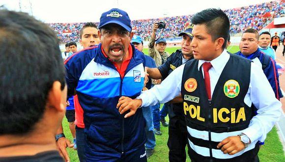 José Soto era entrenador de Carlos A. Mannucci desde diciembre del 2017