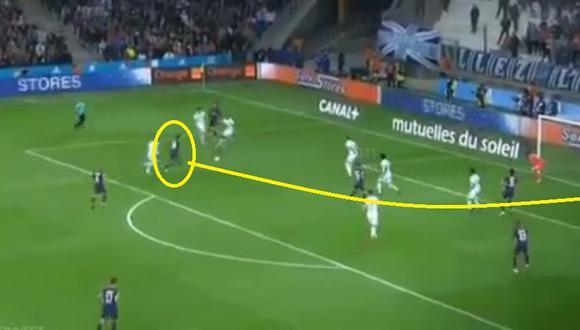 Neymar anotó golazo en el clásico PSG vs Marsella por la Liga de Francia