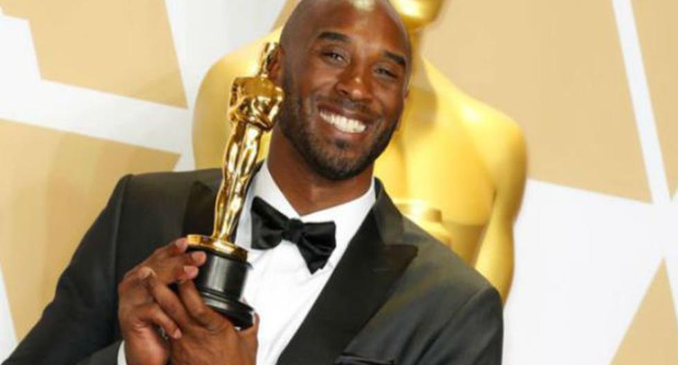Kobe Bryant ganó un Oscar por 'Dear Basketball', un cortometraje de animación. (Agencias)