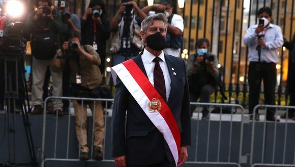 Francisco Sagasti asumió la presidencia de la República el último martes. (Foto: Presidencia)