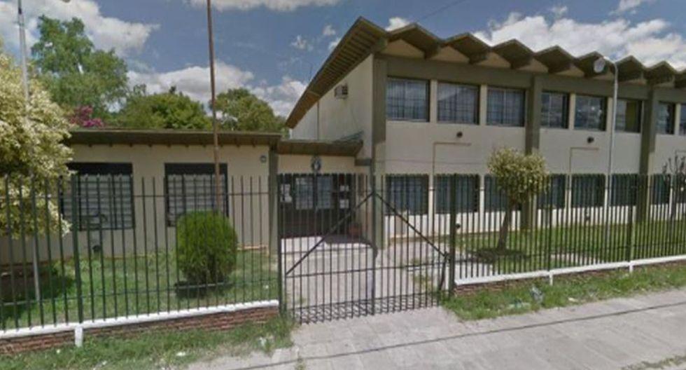 Esta es la escuela de Zárate (Argentina) donde ocurrió la pelea. (Google Street View)