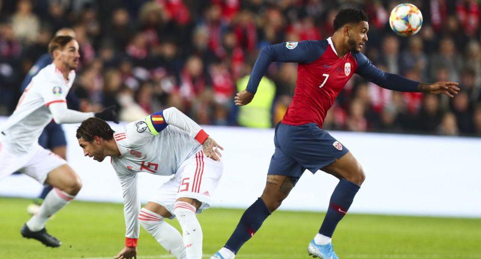 España vs Noruega Juegan por las Eliminatorias Eurocopa 2020