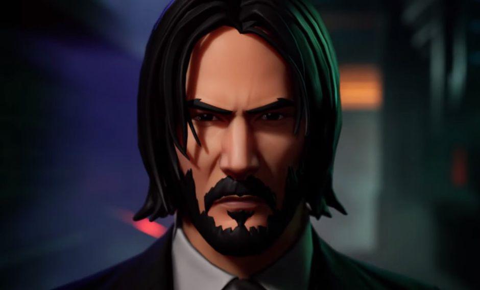 "Fortnite x John Wick: Keanu Reeves llega al Battle Royale de Epic Games por su película ""Parabellum"" (Foto: Epic Games)"