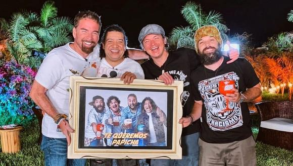 Noche de Patas actualmente cuenta con la conducción de Óscar Lopez Arias, Gonzalo Revoredo y Andrés Salas. (Foto: Latina Televisión)