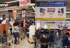 Chile: Venta de televisores se dispara en supermercados tras liberación del 10% de la AFP