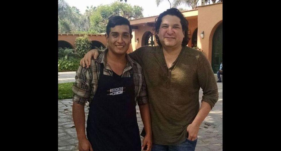 Brandon Altamirano, ganador del concurso que organizó Gastón Acurio se inició en la puerta de su casa. (Fotos: Trome