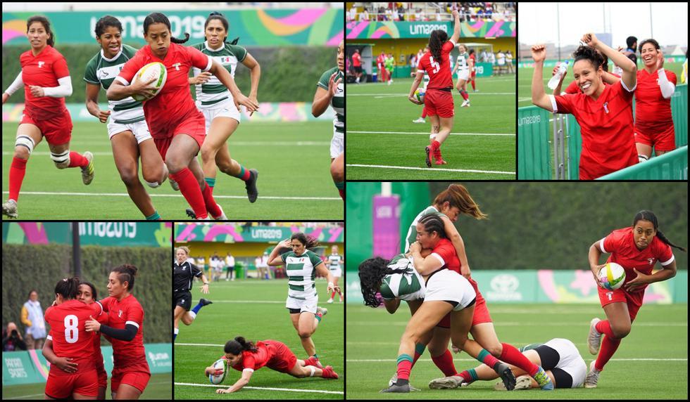 Perú logró triunfo histórico en Rugby Femenino en Lima 2019: Las Tumis vencieron 43-7 a México por Panamericanos