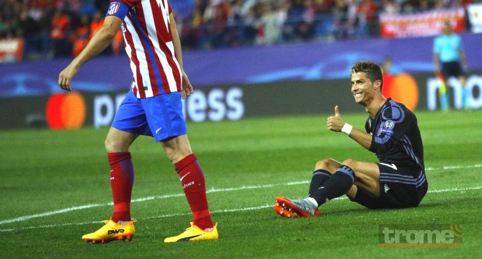 Crisitainbo Ronaldo vuelve a enfrentarse al Atlético de Madrid por Champions League.