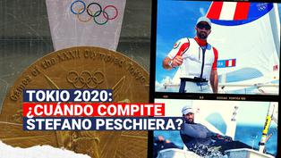 Tokio 2020: ¿Cuándo competirá el velerista peruano Stefano Peschiera?