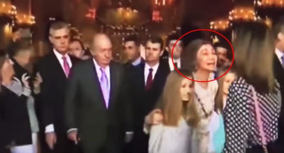 La reina Letizia y doña Sofía protagonizaron una tensa escena.