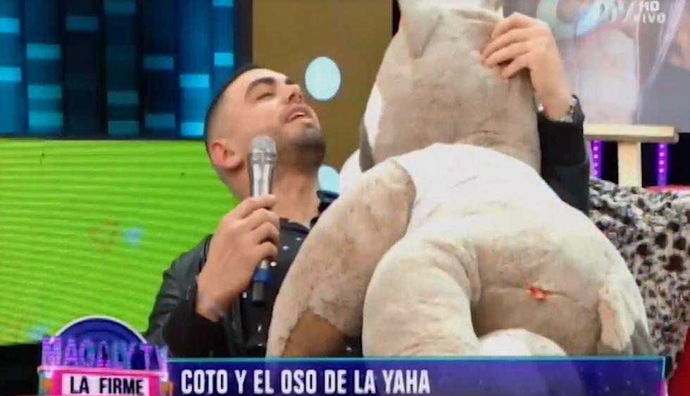 Coto Hernández habló sobre el video íntimo con Yahaira Plasencia. (Capturas: Magaly Tv. La firme)