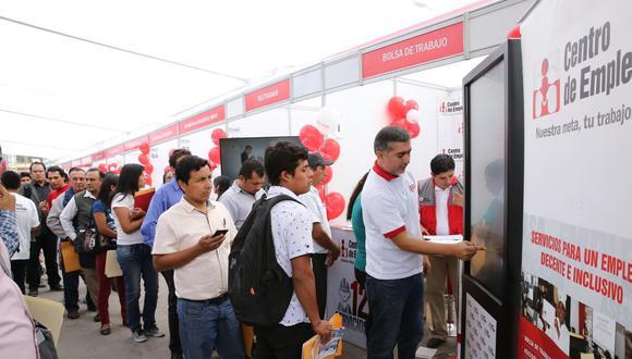 La Municipalidad Distrital de San Bartolo, en coordinación con el Ministerio de Trabajo y Promoción del Empleo (MTPE), realizarán este viernes 28 de febrero la Maratón del Empleo. (Foto: Andina)
