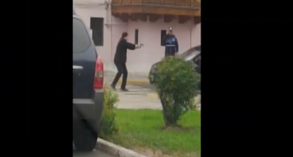 Jesus María: agente de seguridad del Estado frustró a balazos el robo de autopartes