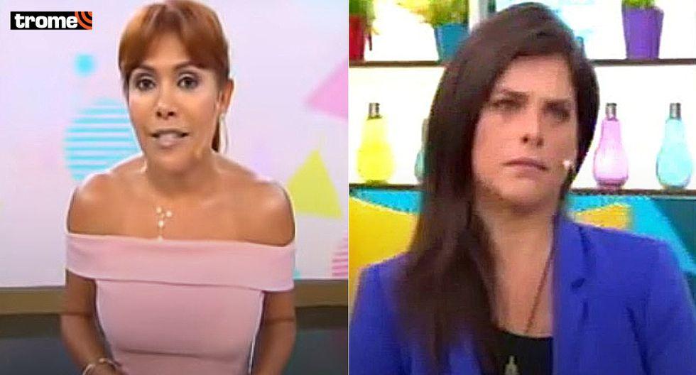 Magaly Medina le responde a Giovanna Valcárcel