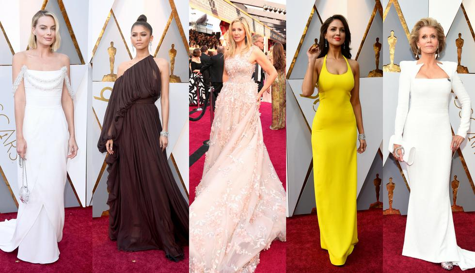 Los mejores vestidos del Oscar 2018