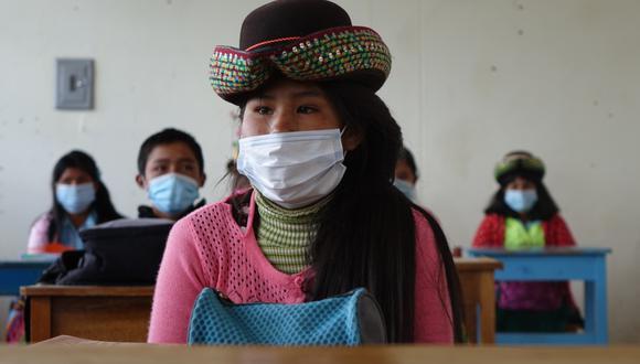 Minedu conversó con escolares y docentes para mejorar educación en sus zonas (Foto: Minedu)