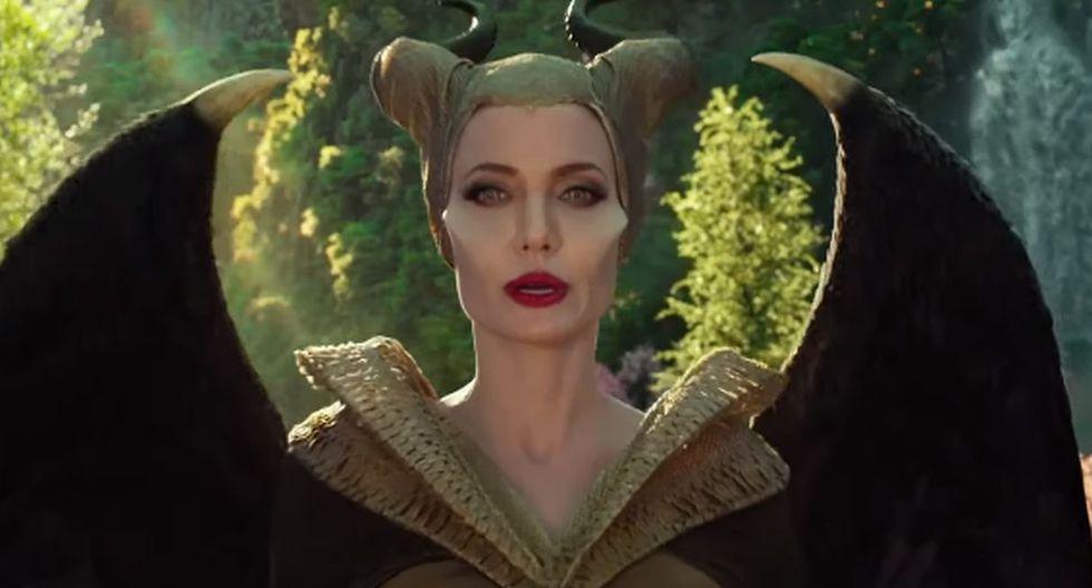 """Disney revela cómo es el proceso de caracterización de Angelina Jolie para """"Maléfica: Dueña del mal"""". (Foto: Disney)"""