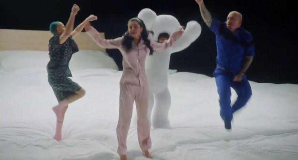 """Selena Gómez y J Balvin estrenaron en YouTube el video oficial de su canción """"I Can't Get Enough"""". (Foto: Captura de video)"""