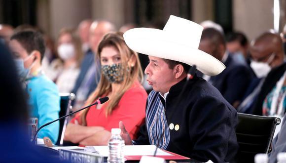 El presidente Pedro Castillo cumple una gira internacional por México y Estados Unidos, la cual se extenderá hasta el 22 de septiembre. (Foto: Presidencia Perú)